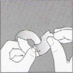 Розетка (накладка) для труб