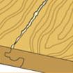 Гель герметик для ламината и паркета RICO Protect Click 125мл