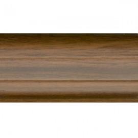 Орех темный 528 - Плинтус Smart Flex (VOX)
