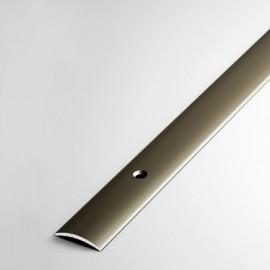 Алюминиевый порог с отверстиями, 20 мм, Бронза