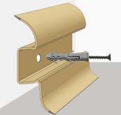 Монтаж пластикового плинтуса с кабель каналом